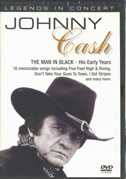 Legends In Concert - The Man In Black - The Early Years (DVD)