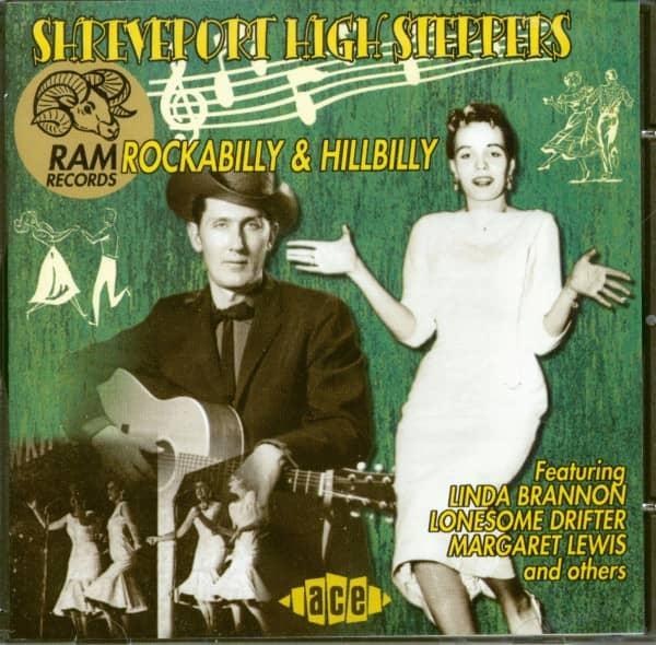 Shreveport High Steppers - RAM Rockabilly & Hillbilly (CD)