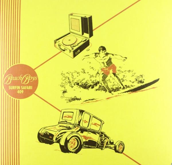 Surfin' Safari 45rpm - ep - 25cm Vinyl Limited Ed