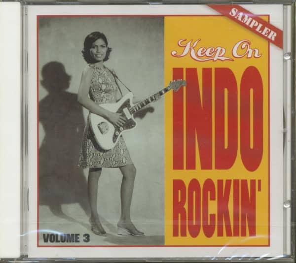 Keep On Indo Rockin', Vol.3 (CD)