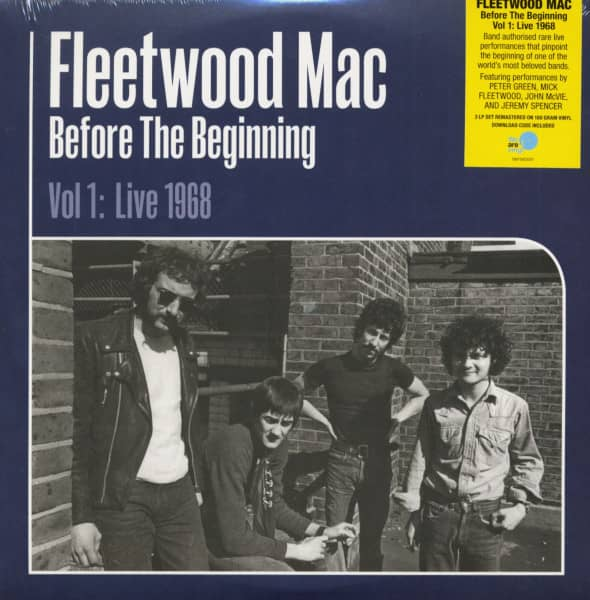 Before the Beginning - Vol 1: Live 1968 (3-LP)