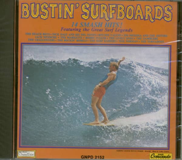 Bustin' Surfboards - 14 Smash Hits (Dewey Weber Cover)