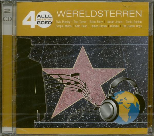 Alle 40 Goed - Wereldsterren (2-CD)