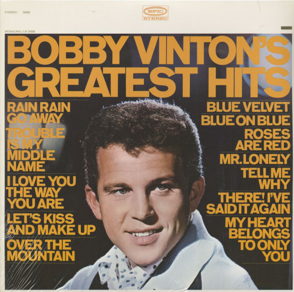 Bobby Vinton's Greatest Hits (Stereo) (LP)
