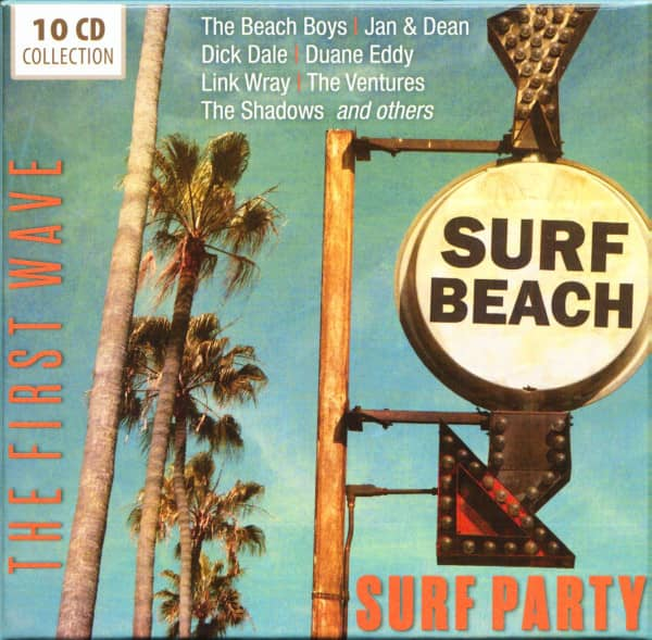 Surf Party - The First Wave (10-CD)
