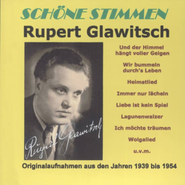 Schöne Stimmen - Originalaufnahmen aus den Jahren 1939-54