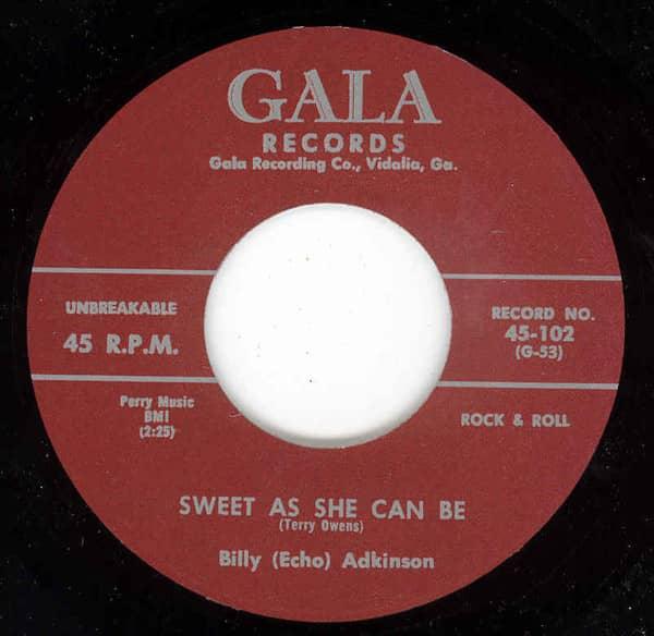 Sweet As She Can Be b-w Sugar Lump 7inch, 45rpm
