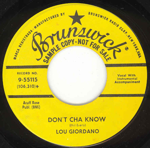 Stay Close To Me - Don't Cha Know 7inch, 45rpm
