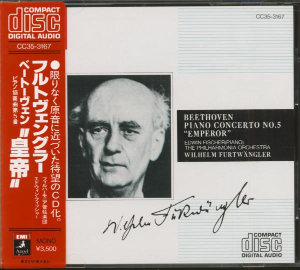 Beethoven Piano Concerto No.5 - Emperor (CD, Japan, EMI Angel Series)