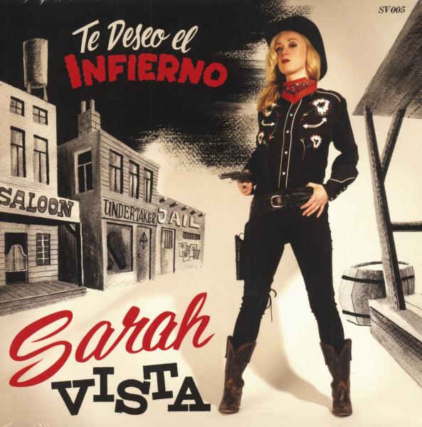 Te Deseo El Infierno - Senora Bigote (7inch, 45rpm, Red Vinyl, PS, SC, Ltd.)