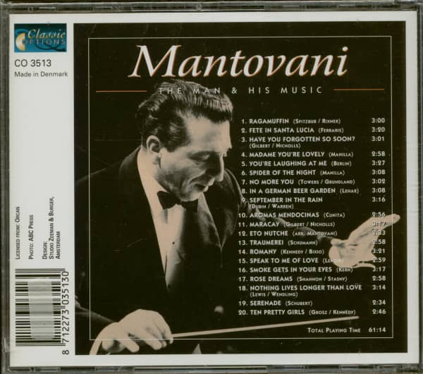 The Man & His Music (CD)