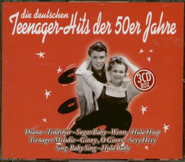 Die Deutschen Teenager Hits Der 50er Jahre (2-CD)