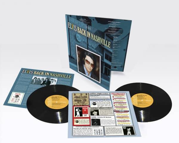 Elvis Back In Nashville (2-LP)