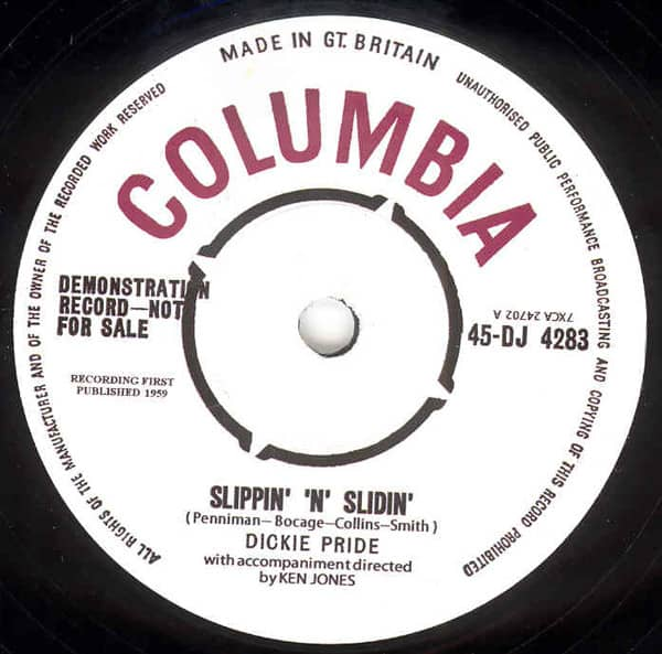 Slippin' & Slidin' - Fabulous Cure 7inch, 45rpm, SC