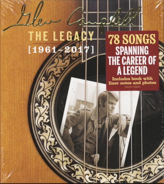 The Legacy - 1961-2017 (4-CD, Limited Edition)