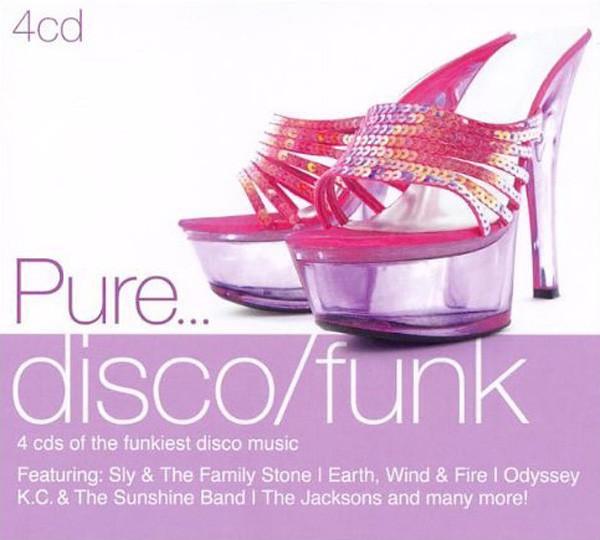 Pure Disco - Funk 4-CD