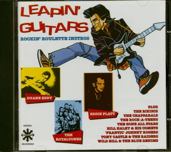 Leapin' Guitars - Rockin' Roulette Instros (CD)
