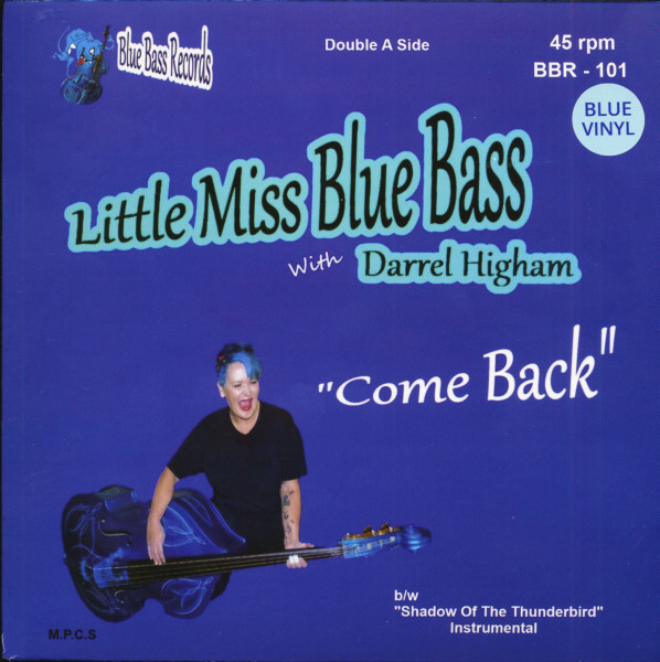 Come Back (7inch, 45rpm, PS, Blue Vinyl, Limited Edition)