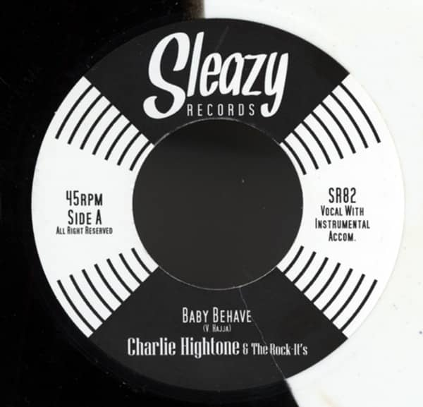 Baby Behave b-w Hangover Blues 7inch, 45rpm