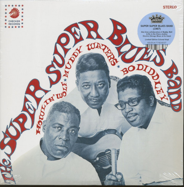 Howlin' Wolf, Muddy Waters, Bo Diddley (LP,180g Vinyl, Ltd.)