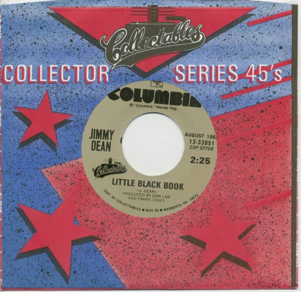 Big Bad John - Little Black Book (7inch, 45rpm, BC, CS)