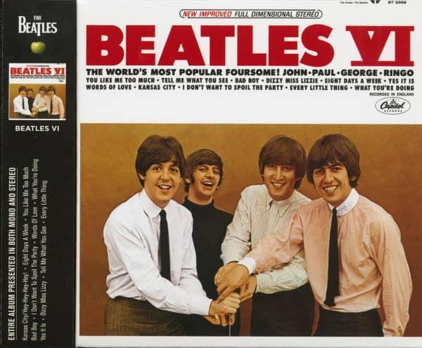 Beatles VI (CD, Ltd.)