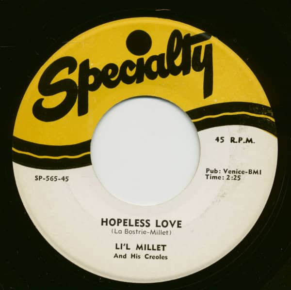 Rich Woman - Hopeless Love (7inch, 45rpm)