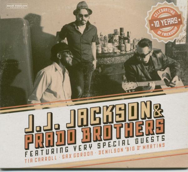 J.J. Jackson & Prado Brothers (CD)