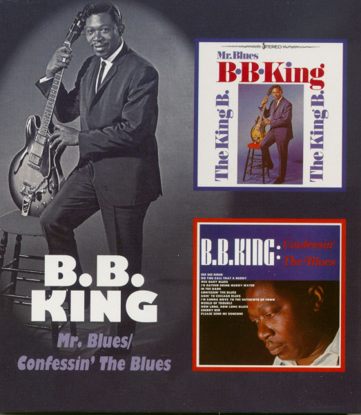 Mr. Blues - Confessin' The Blues (CD)