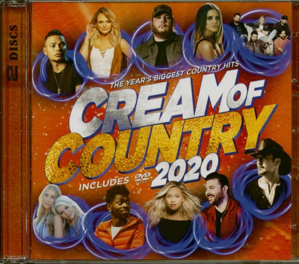 Cream Of Country 2020 (CD+DVD)