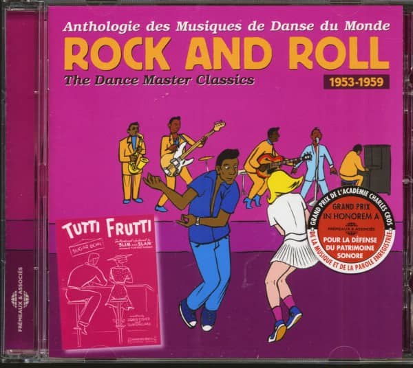 Rock And Roll - The Dance Master Classics 1953-1959 (CD)