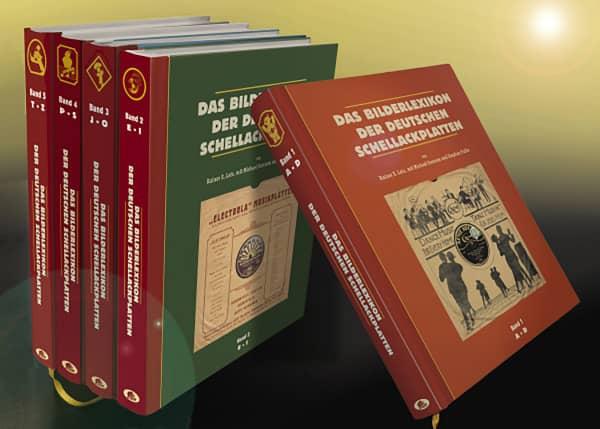 Das Bilderlexikon der deutschen Schellack-Schallplatten (5 Bände) - The German Record Label Book