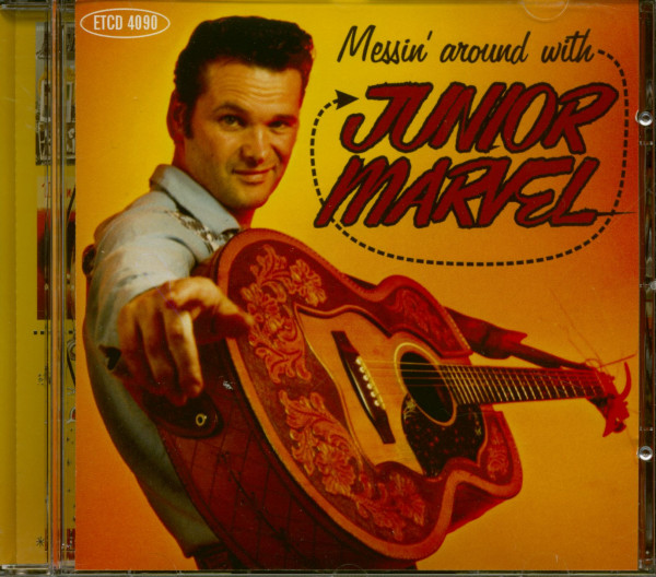 Messin' Around With Junior Marvel (CD)