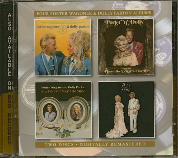 Four Porter Wagoner & Dolly Parton Albums (2-CD)
