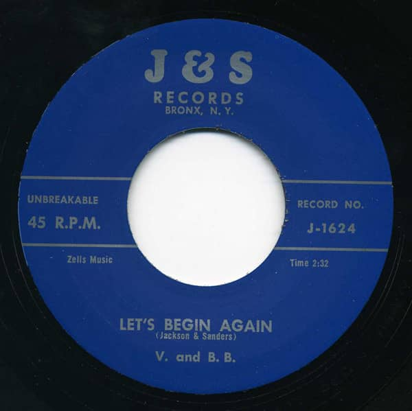 They Just Rocking & Rolling - Let's Begin.7inch, 45rpm