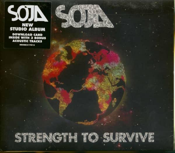 SOJA - Strength To Survive (CD)