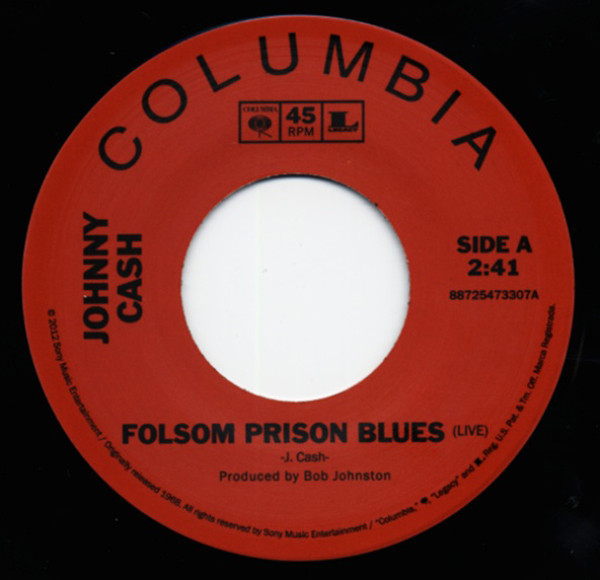 Folsom Prison Blues (7inch, 45rpm&T-Shirt) Threads&G