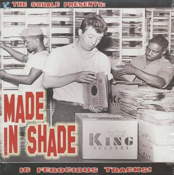 Made In Shade - 16 Ferocious Tracks (LP)