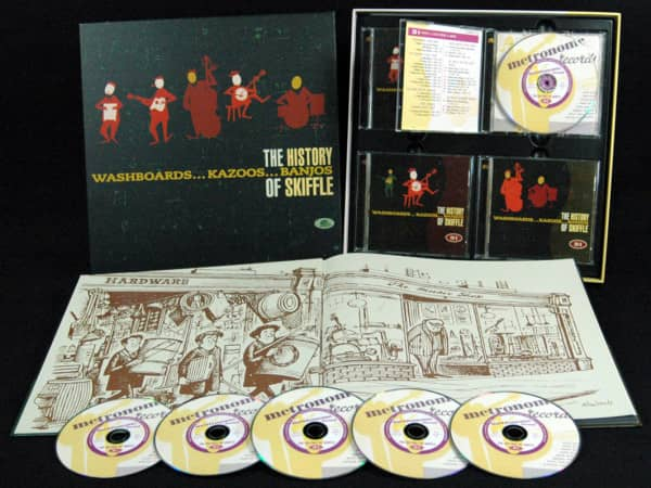 The History Of Skiffle (6-CD Deluxe Box Set)