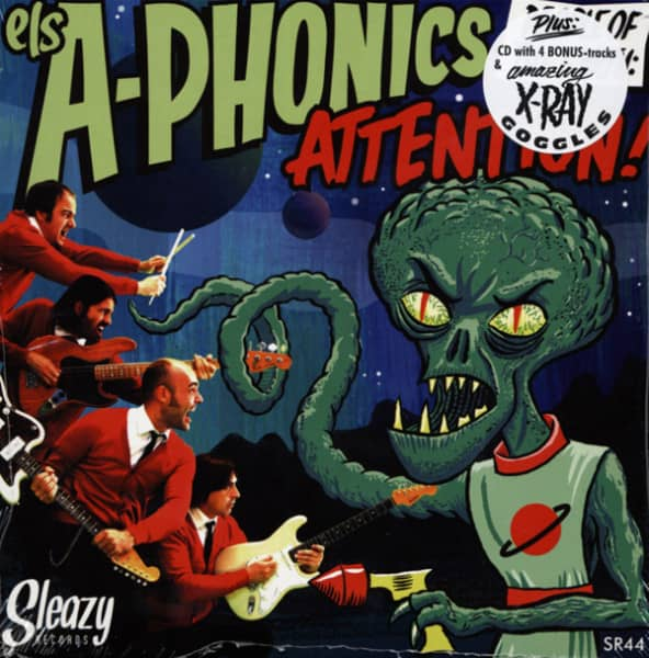 Attention!! 7inch, 45rpm, EP, PS, incl.CD