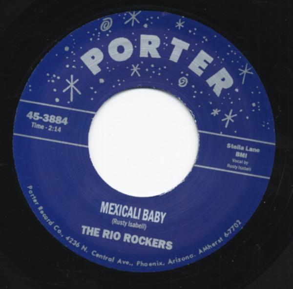 Mexicali Baby b-w Mexican Rock'n'Roll 7inch, 45rpm