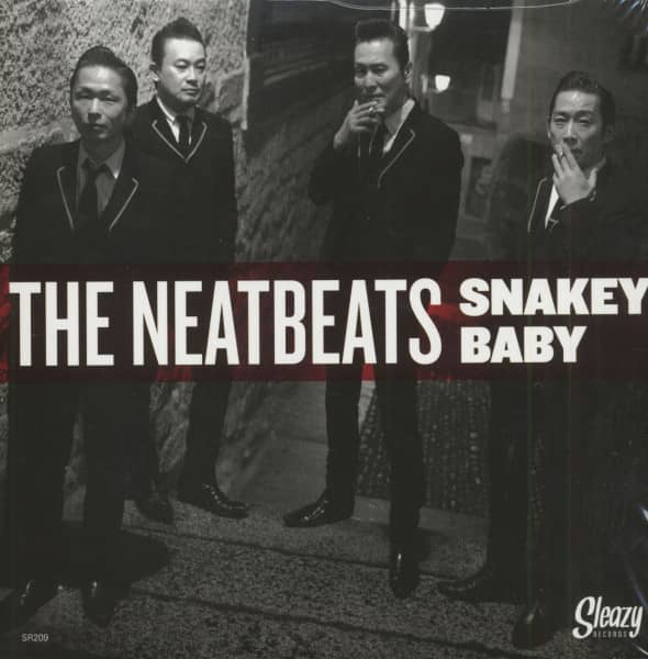 Snakey Baby - I'm Going Down The Line (7inch, 45rpm, PS)