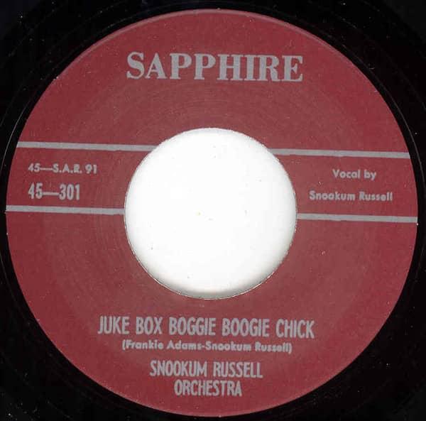 Juke Box Boogie Boogie Chick b-w Basin Street Ain't Basin Street 7inch, 45rpm