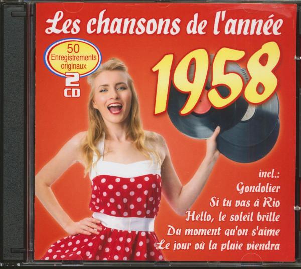 Les Chansons De L'Année 1958 (2-CD)