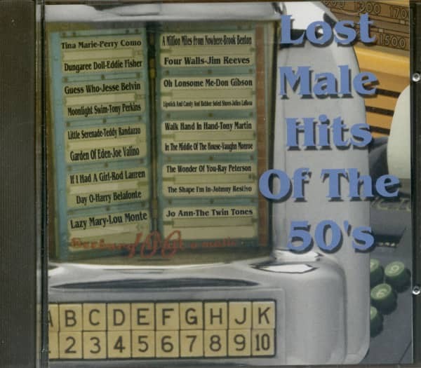 Lost Male Hits Of The 50's (CD)