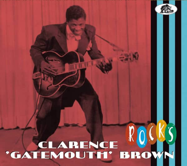Clarence 'Gatemouth' Brown - Rocks (CD)
