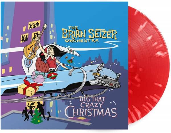 Dig That Crazy Christmas (LP, 180g Red Splatter Vinyl, Ltd.)