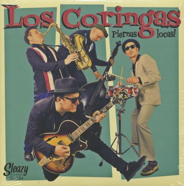 Piernas Locas (7inch, 45rpm, EP, PS)