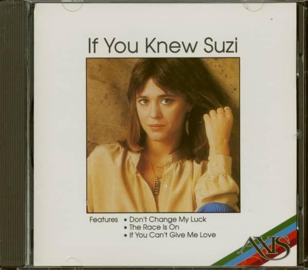 If You Knew Suzi (CD)