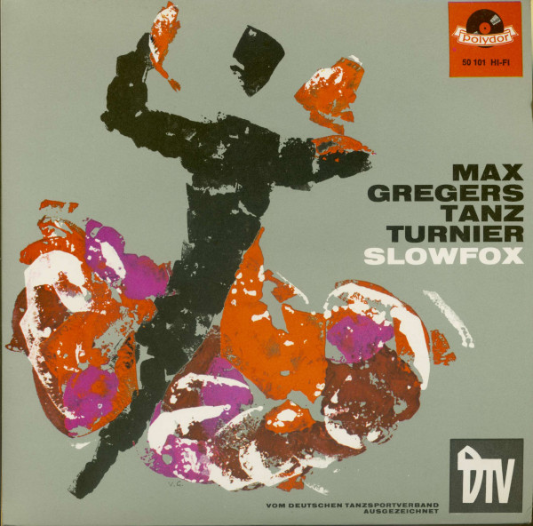Max Gregers Tanz Turnier - Slowfox (7inch, 45rpm, EP, PS)